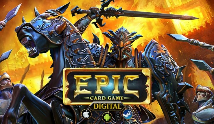 Epic Digital Card Game Is Midway Through Kickstarter